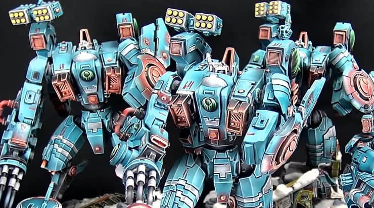Rise of the Riptides: Ion Storm Pattern Tau Army - Spikey Bits