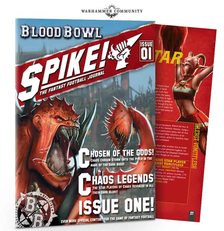 Blood Bowl Spike Mag