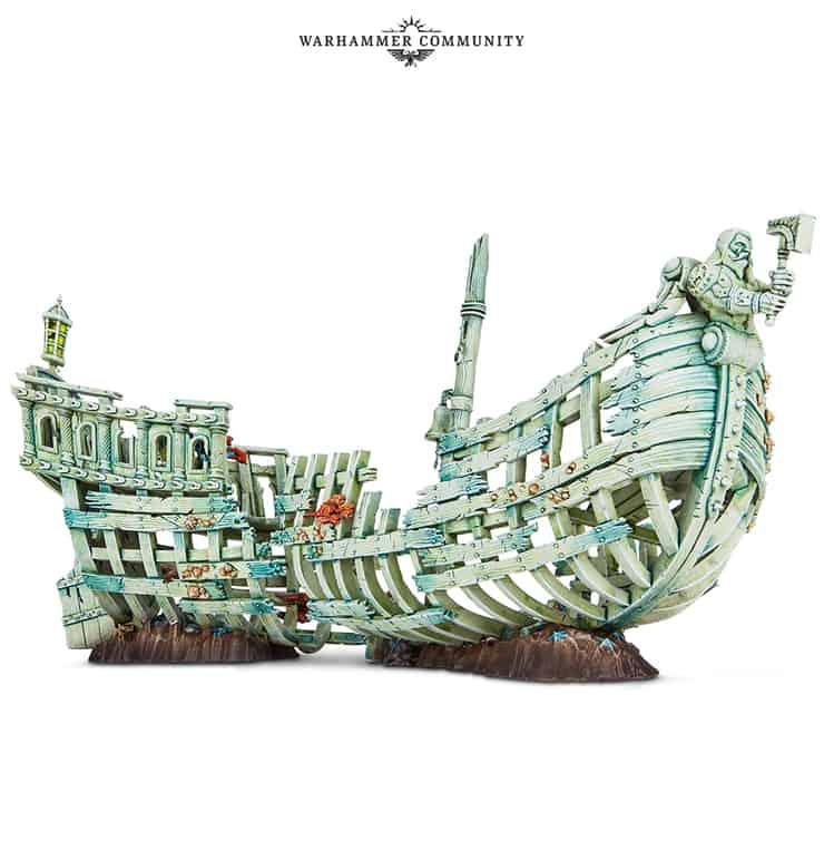 Idoneth Deepkin Gloomtide Shipwreck