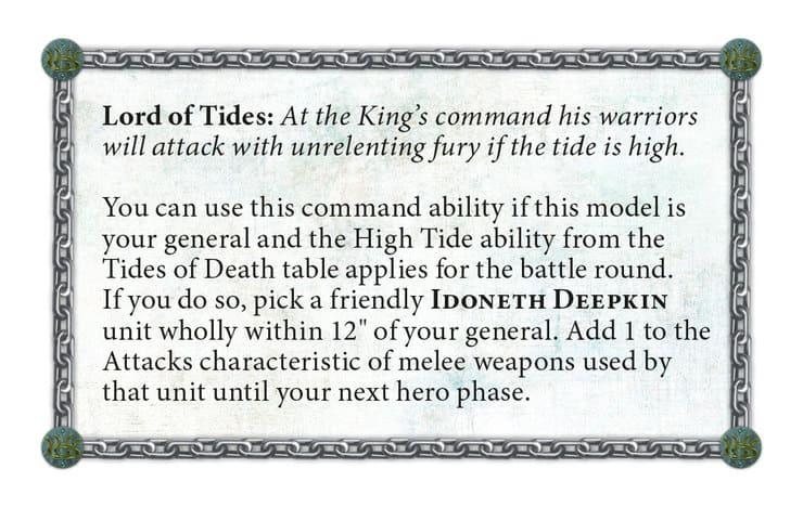 Idoneth Deepkin Lord Of Tides
