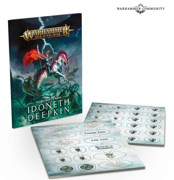 Idoneth Deepkin Warscroll Cards