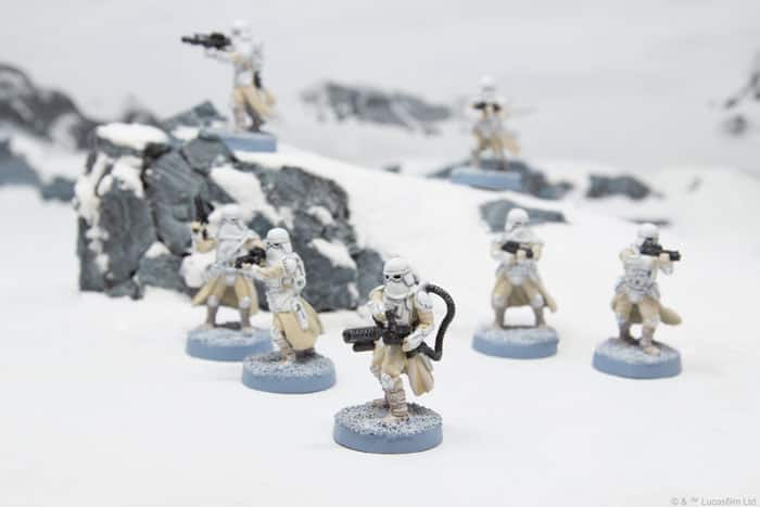 Snowtroopers Unboxing Build Star Wars Legion Spikey Bits