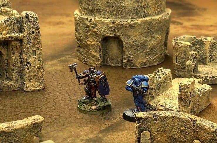 desert terrain warhammer