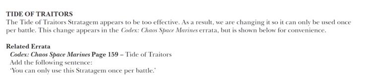 tide of traitors