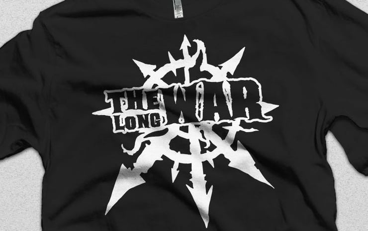 long war tee wal hor adepticon 2018