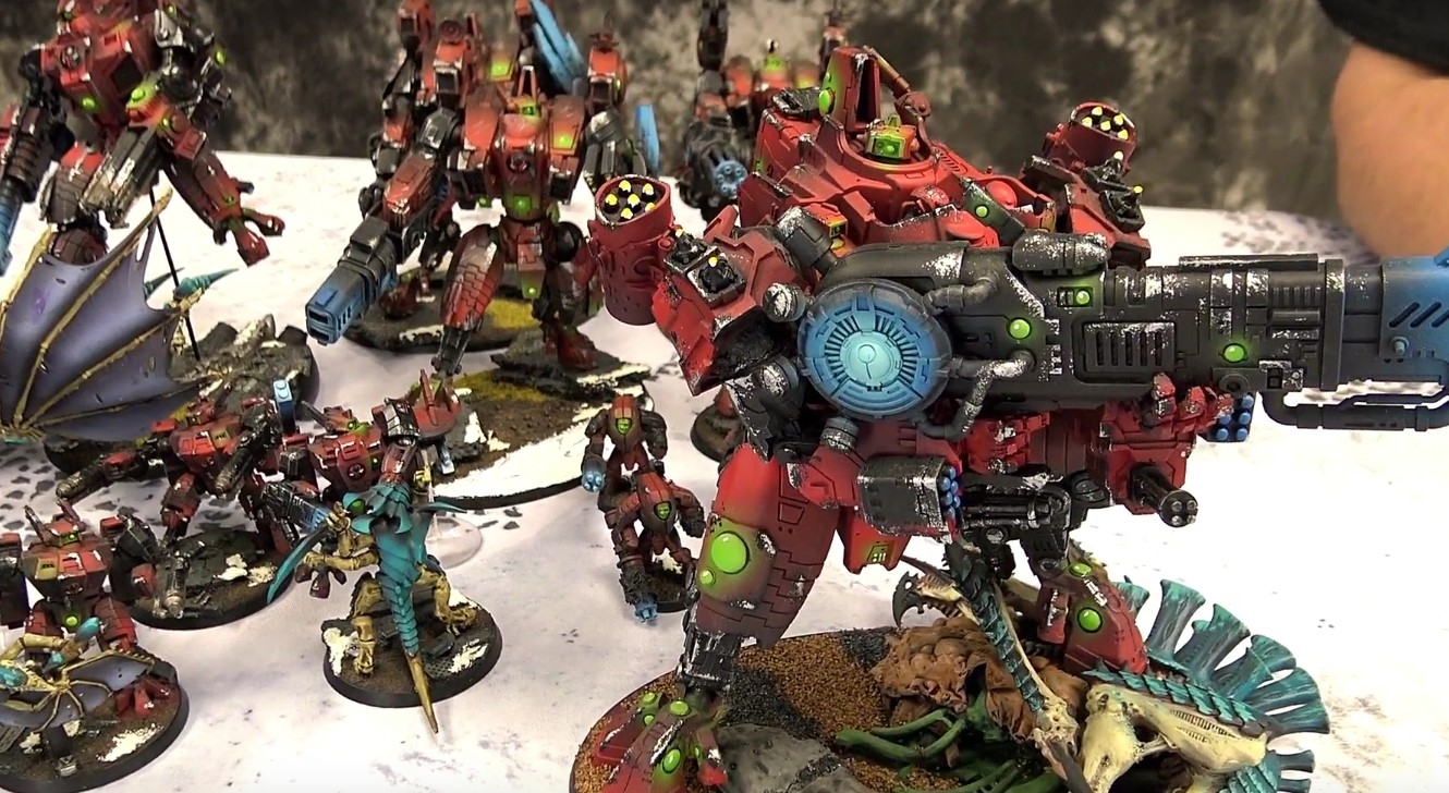 Top 10 Warhammer 40k Army Showcases of 2018 - Spikey Bits