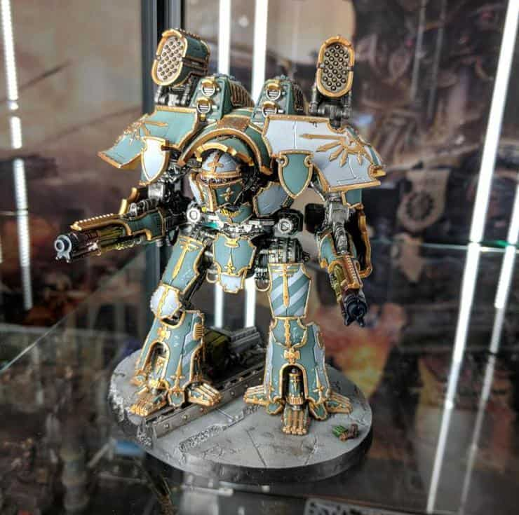 Painted Titanicus Miniatures Amp Releases Latest Spikey Bits