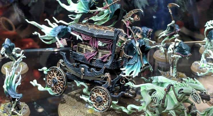 black coach Age of Sigmar