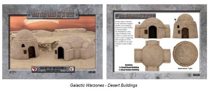 GF9 Wave 1 Desert Buildings