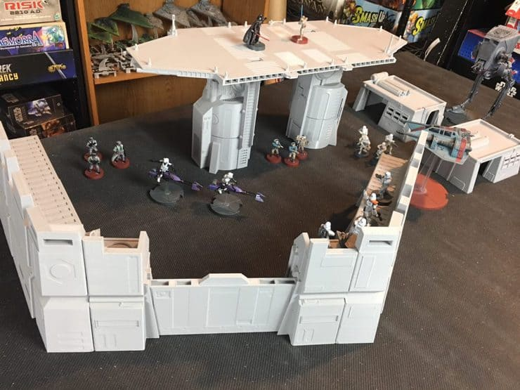 Imperial Terrain For Star Wars Legion Review Spikey Bits