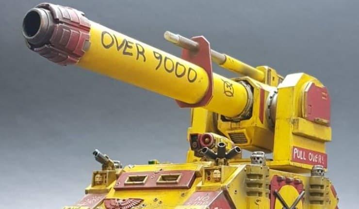 angry marine launcher