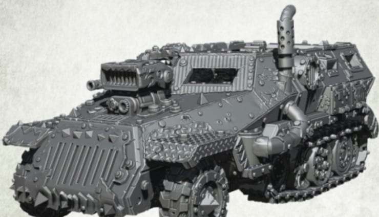 New Orc Headkrasha Halftrakk from Kromlech