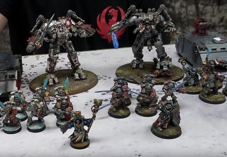 grey knights battle report