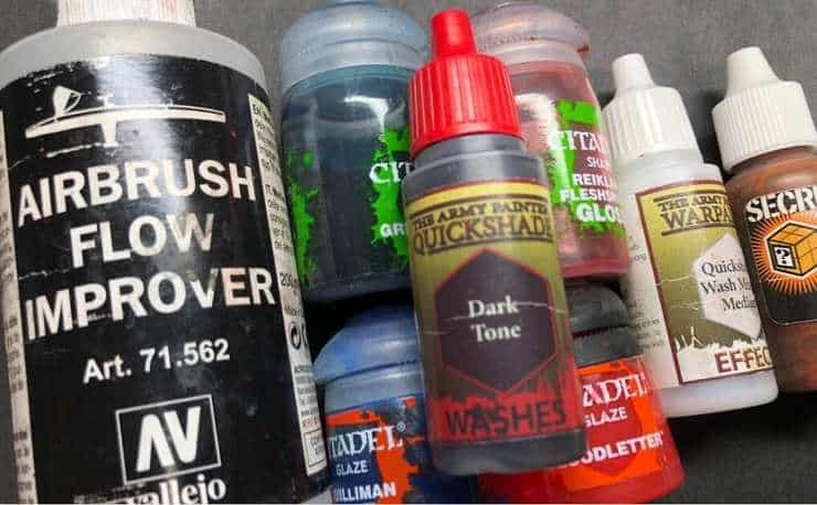 hobby hacks washes and paints hor wal