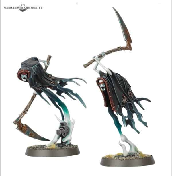 nighthaunt 4 Grimghast Reapers