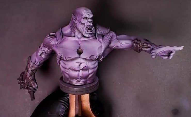 ork warlord purple skin