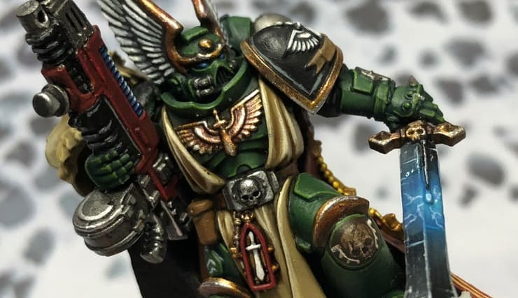 Primaris Azrael Dark Angels Chapter Master