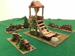 DIY & How To Print Cheap 3D Game Table Terrain - Spikey Bits