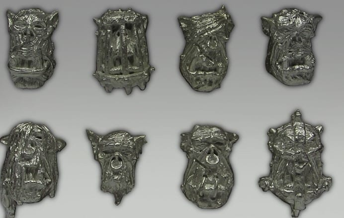 Orc Head Feature