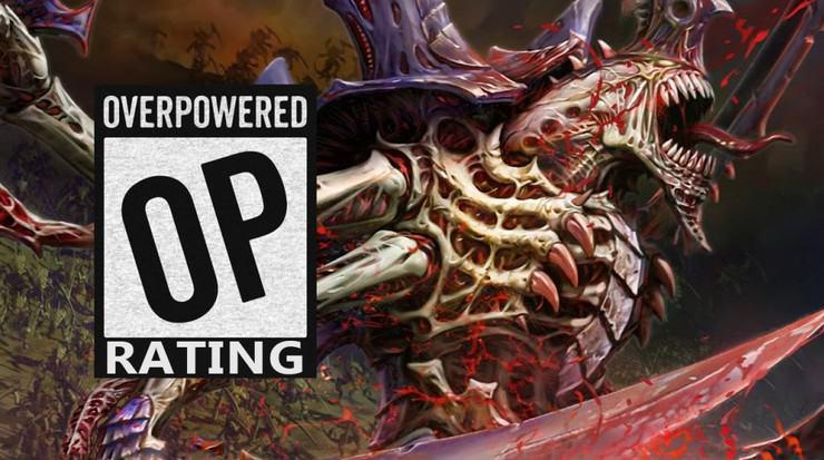 Tyranids OP rating Warhammer 40k