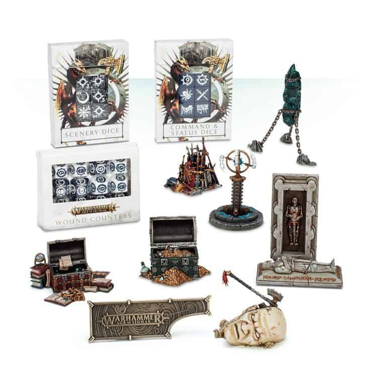 Warhammer Age of Sigmar Gaming Accessories Collection