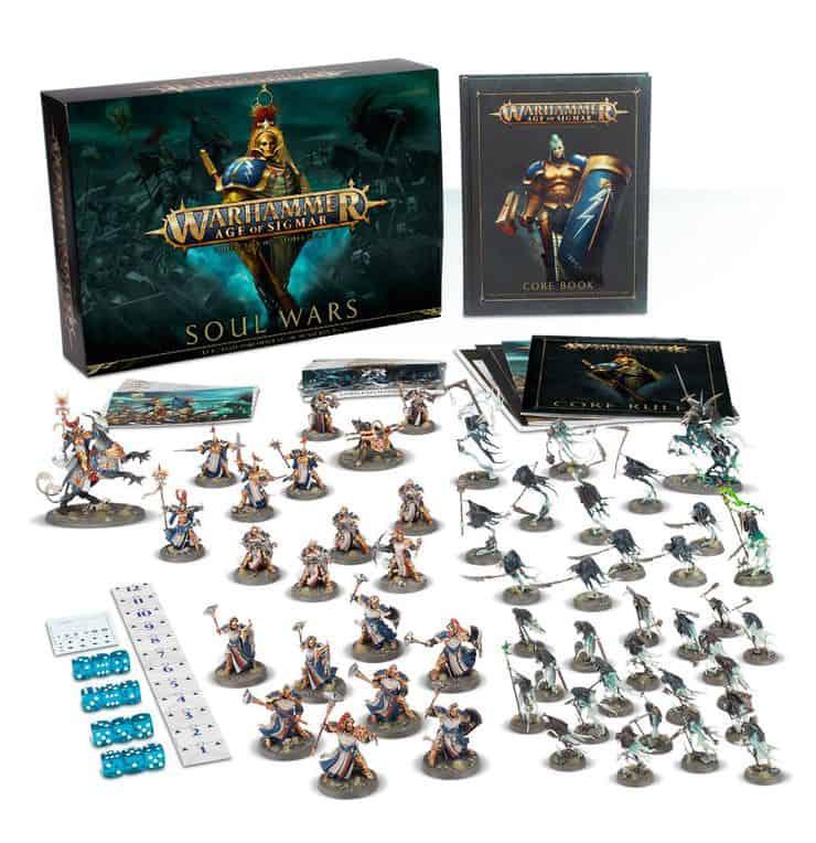 Warhammer Age of Sigmar Soul Wars AoS Soul Wars Starter Box