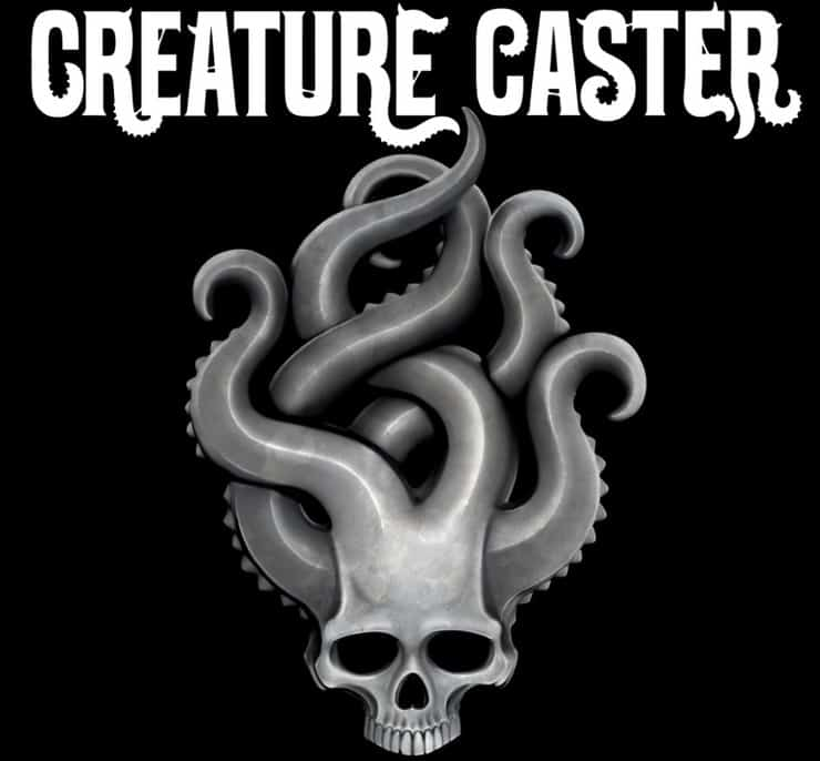 creature caster logo