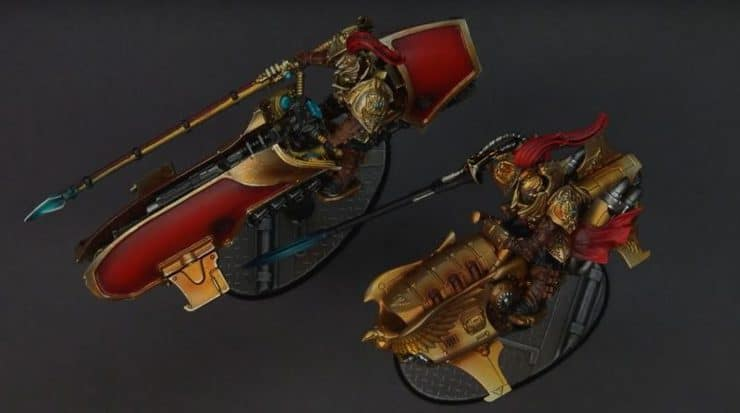 custodes showcase bikes