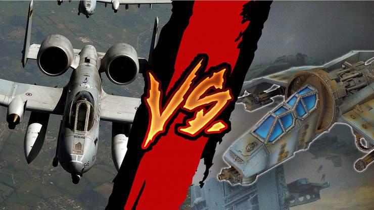 vulture vs warthog a-10
