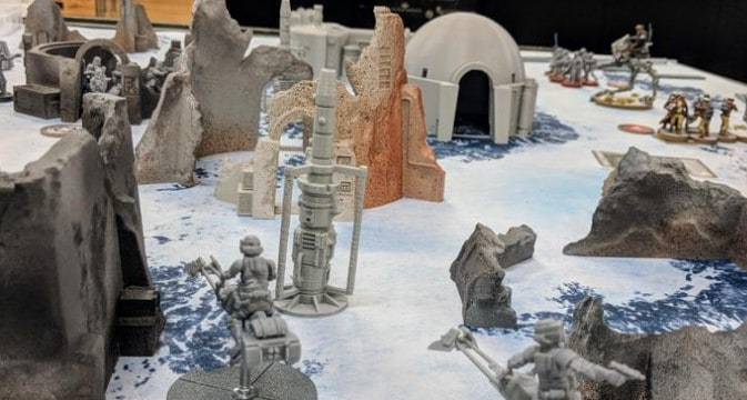 Wrecked Desert Legion Bundle: Imperial Terrain