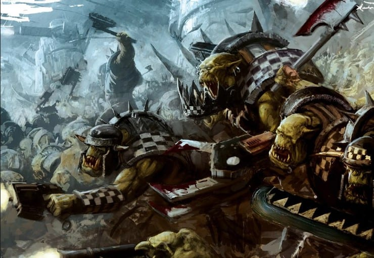Goff Feature Orktober Rumors: Codex Clan Warlord Trait Rules