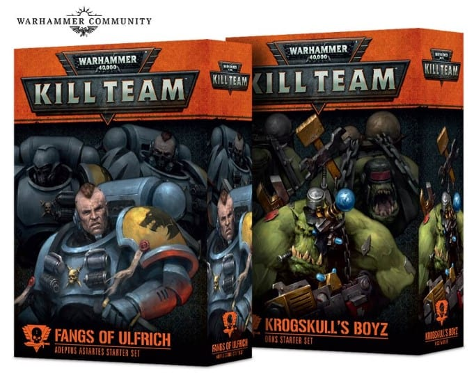 KT start sets GW Previews Kill Team Rules & Releases
