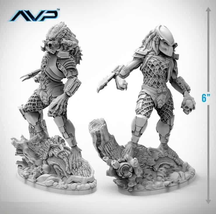 New Predator Jungle Hunter Statue From Prodos