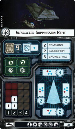 Interdictor suppression refit