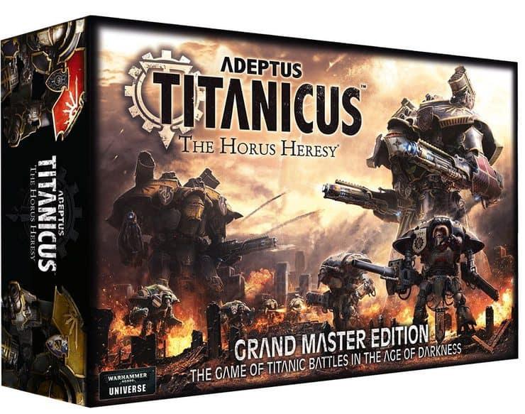 Adeptus Titanicus Unboxing & A Titan Goes Missing