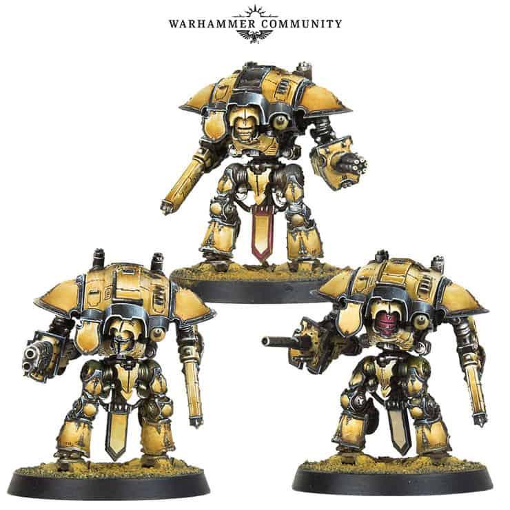 GW Teases New Titan & Knight Rules: Doom of Molech - Spikey Bits