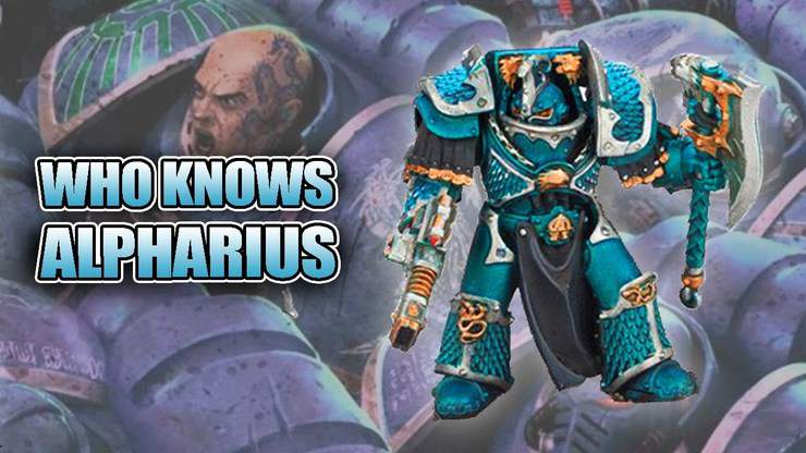 Who Knows Alpharius? FW Lernaean Unbox & Build