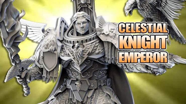 Celestial Knight Emperor Returns: Kabuki Unbox & Build