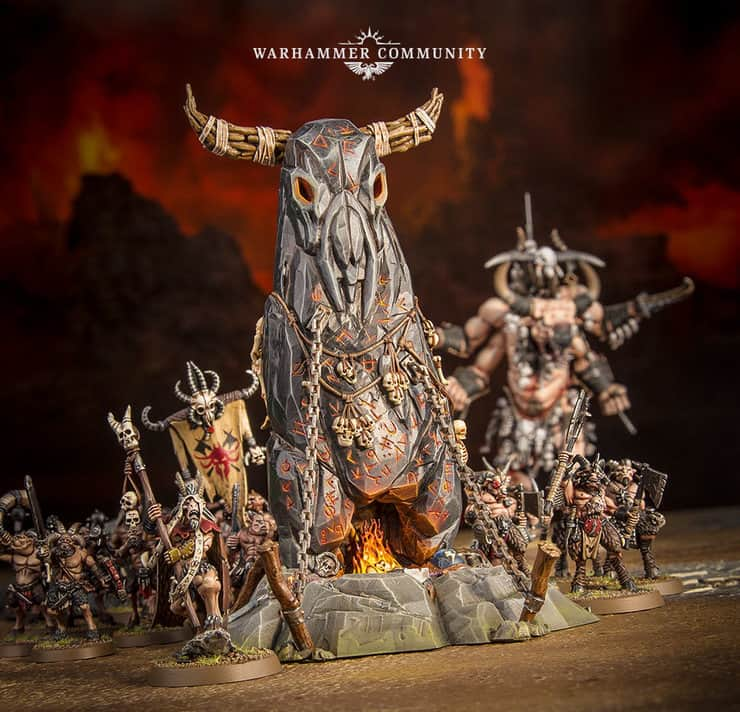 GW Announces Beastmen as WD Pictures Surface - Spikey Bits