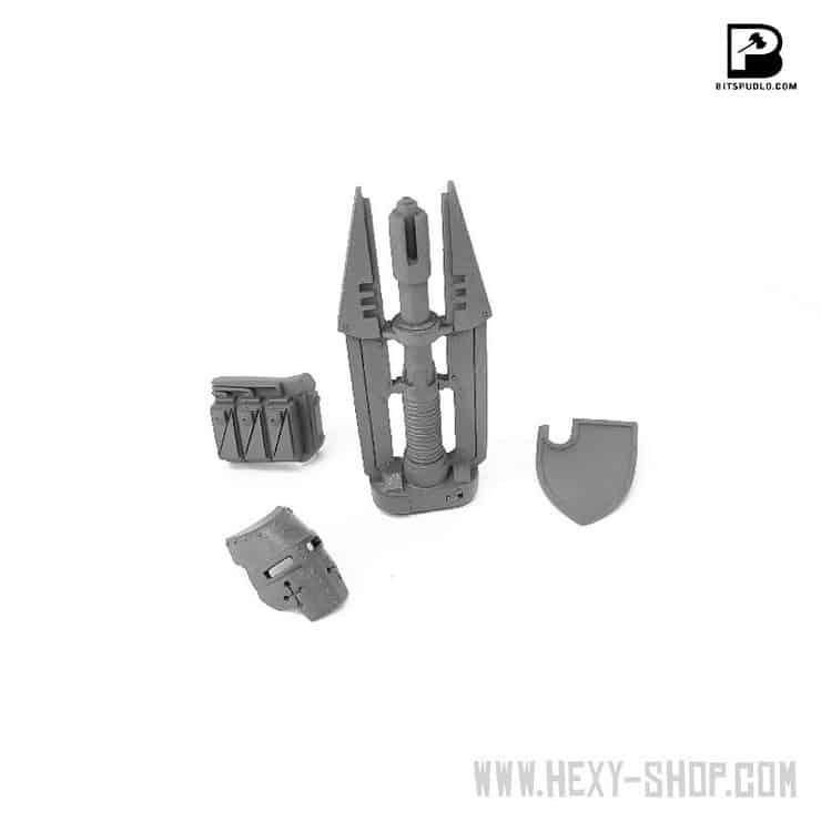 Knight Sovereign with Impuls Cannon Upgrade Kit