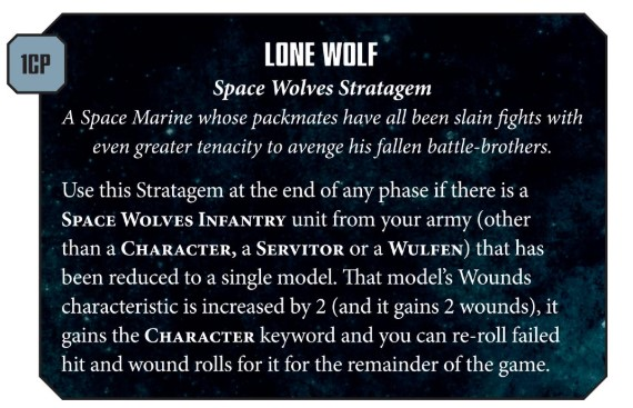 Winter's Coming: 8th Edition Space Wolves Codex Reviewed