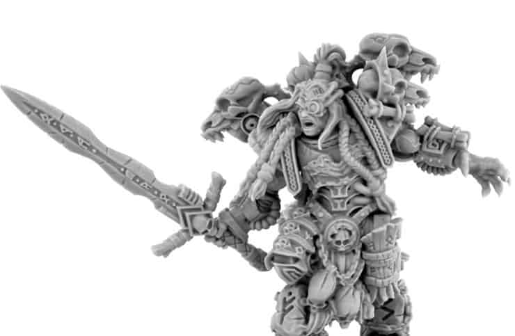 New Space Warrior Miniatures From Wargame Exclusive