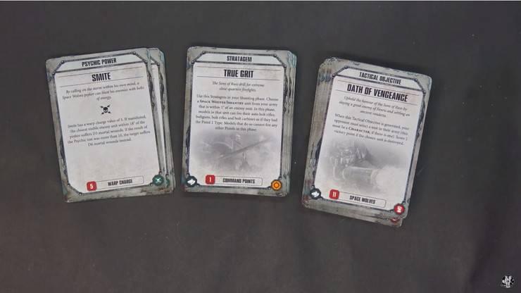 SW Datacards