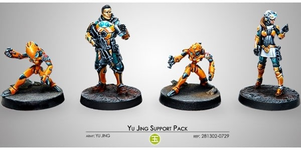 Infinity: Yu Jing - Support Pack (4)