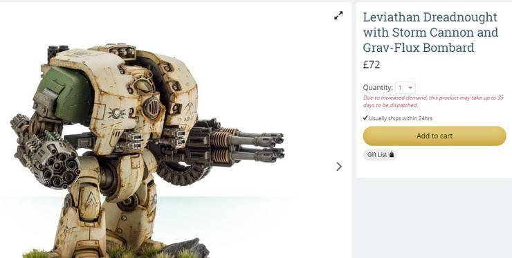 leviathan fw cost UK