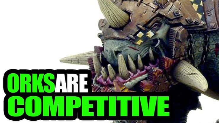 Orks are Competitive! Orks Vs Tyranids 40k 8th Battle Report