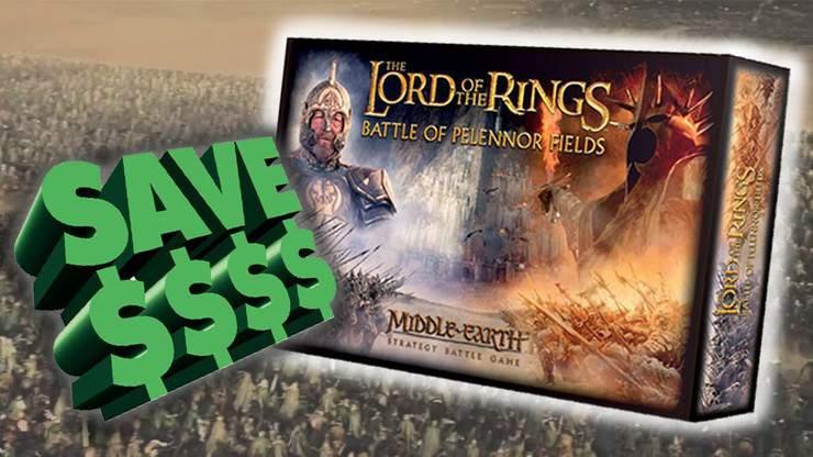 Big Value: Battle of Pelennor Fields & LoTR Releases