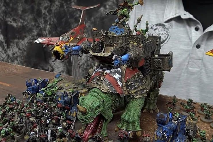 ork battle report