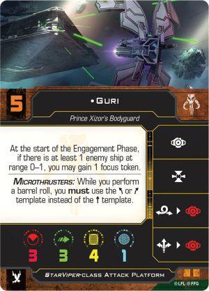 Super Guri Returns for Scum in X-Wing 2.0