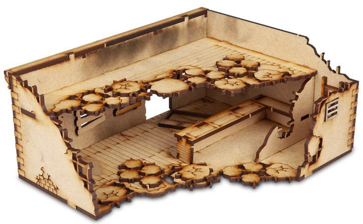 Ruined Terrain For Your Post Apocalypse Games - Spikey Bits
